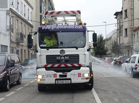 GRUPO CANALIS adapta sus camiones para luchar contra la COVID-19